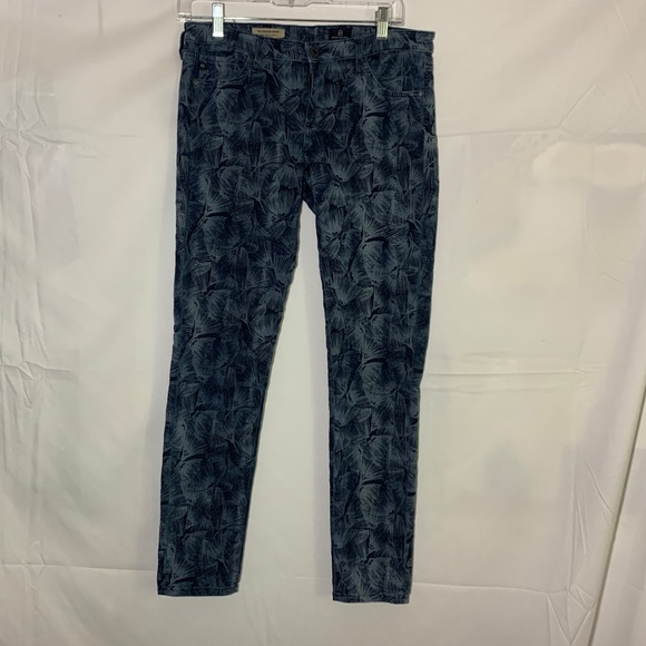 Ag Adriano Goldschmied Denim - Adriano Goldschmied print leggings ankle jeans
